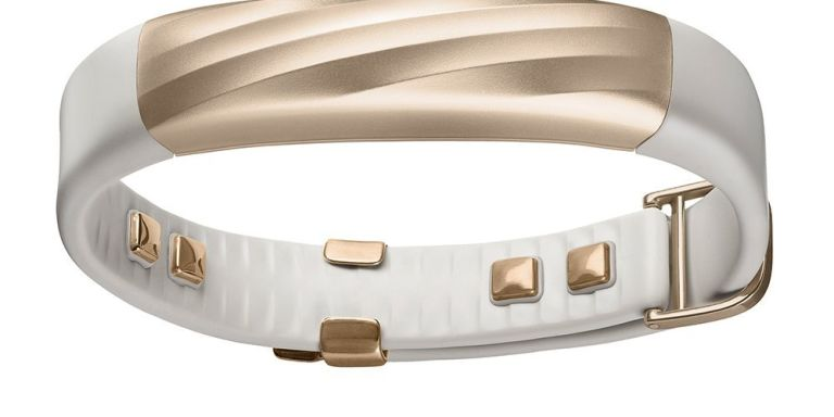 Fitness-Armband im Gold-Look