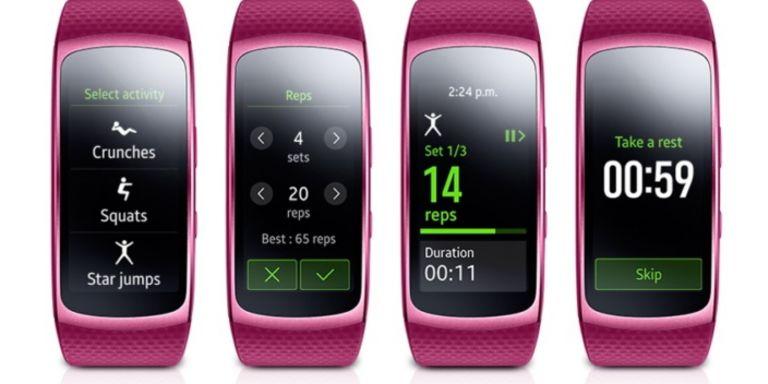 Update für Samsung Gear Fit 2 bringt automatische Pausen