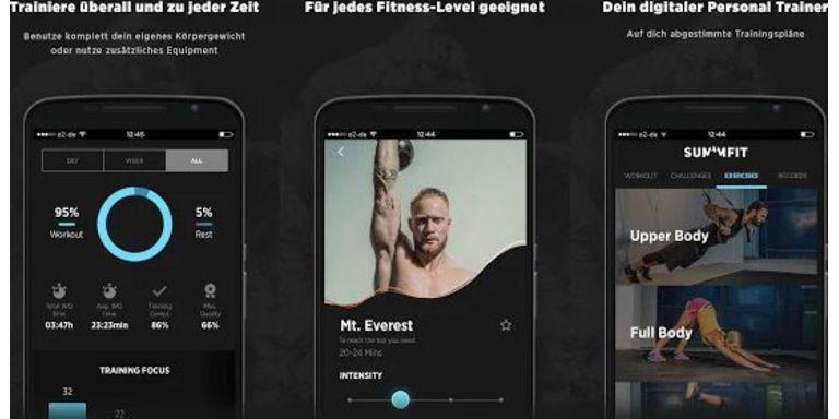 Militär-Fitness mit der App SUMMFIT
