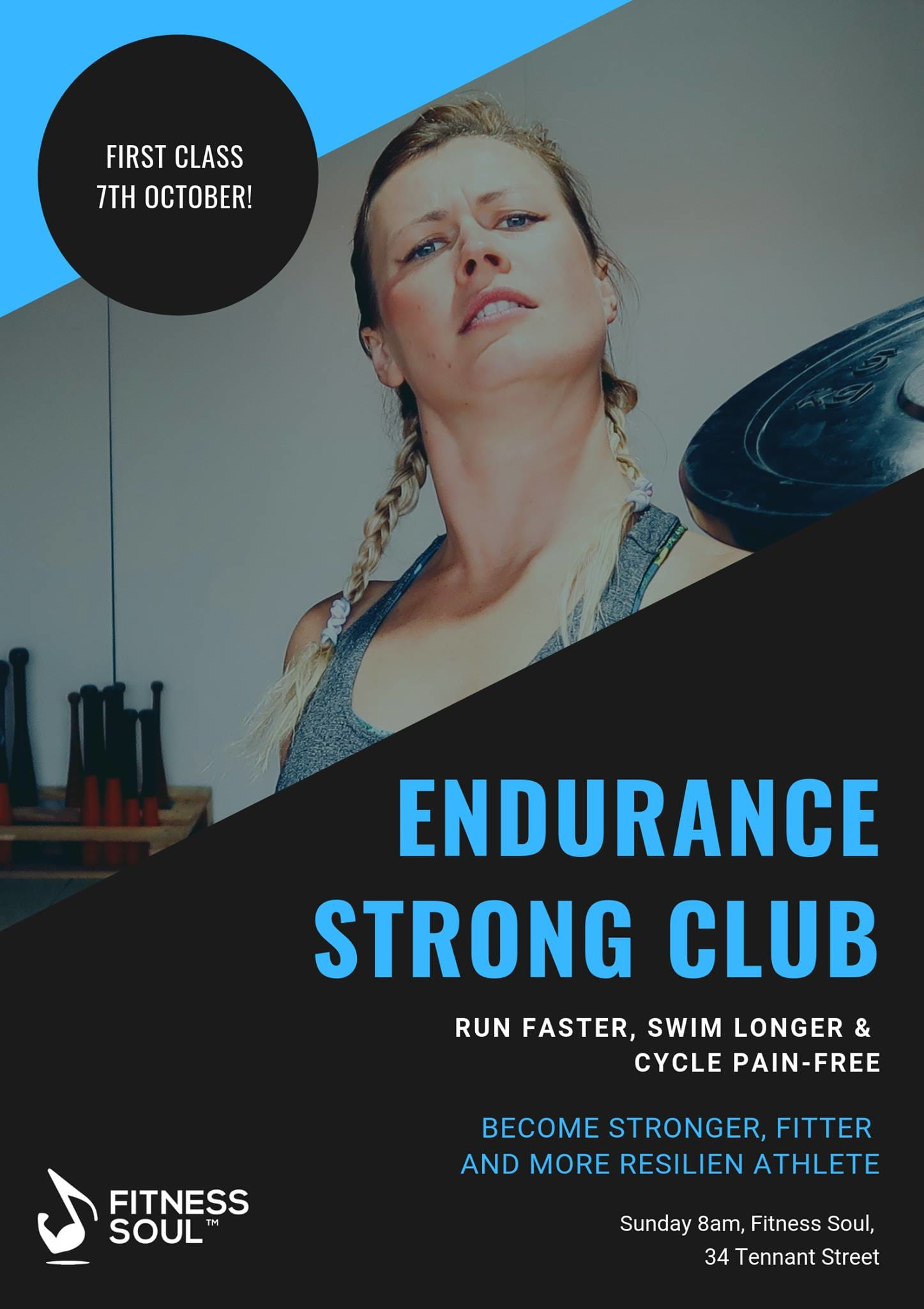 strength and conditioning class for triathletes