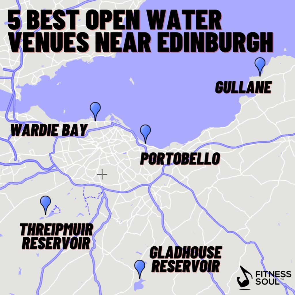 best open water swimming venues