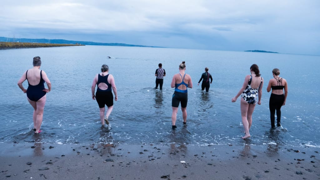 open water swimming edinburgh