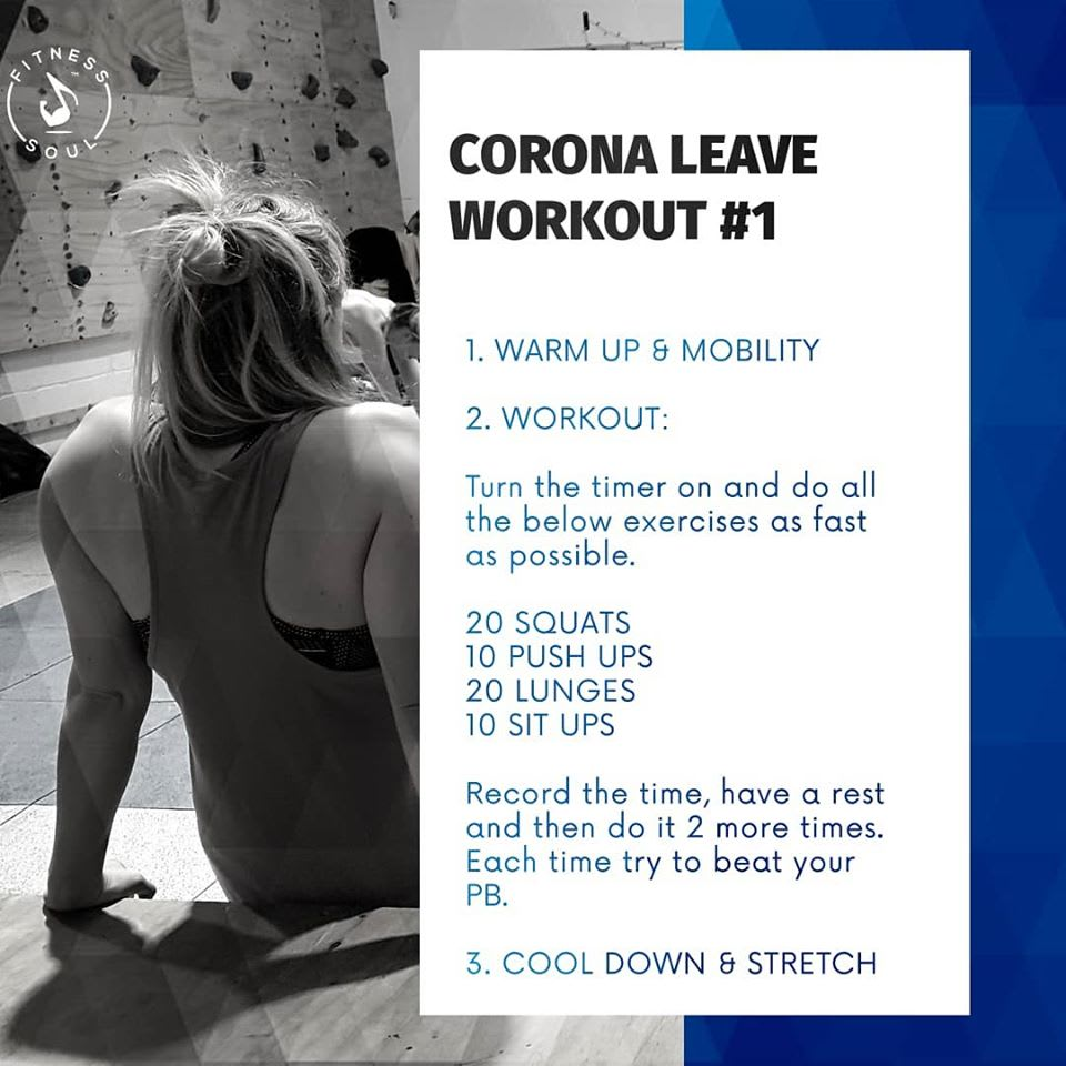 Coronavirus Leave Workouts