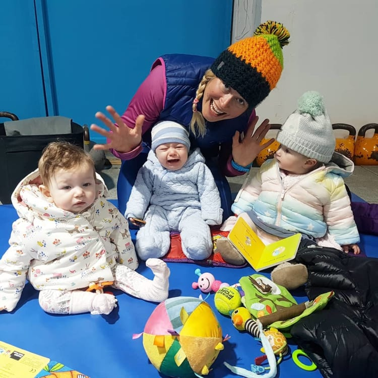 fantastic class for mums and babies in Edinburgh