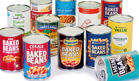 Cheap, quick, muscle building - a tin of baked beans