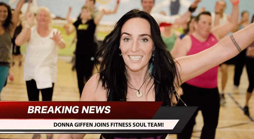 Donna Giffen joins Fitness Soul Team!
