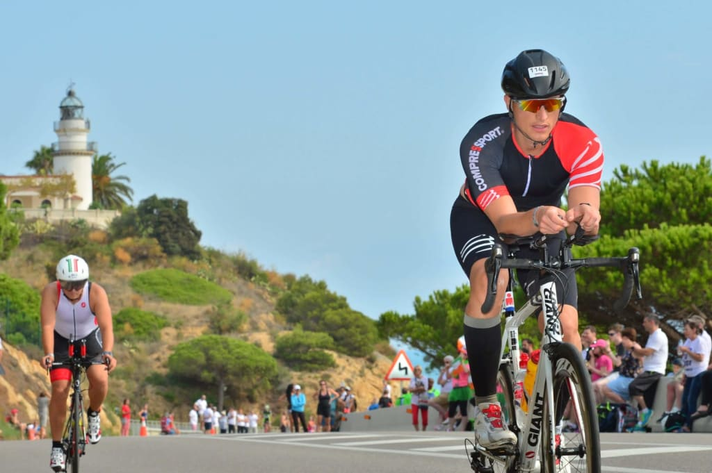Bike Leg Ironman Barcelona Leszek Stelmachowski