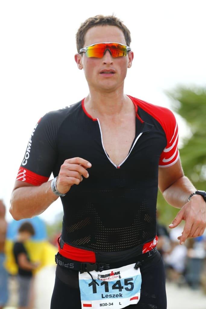 Ironman Barcelona Leszek Stelmachowski