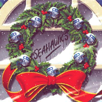 Seattle Seahawks Christmas Card