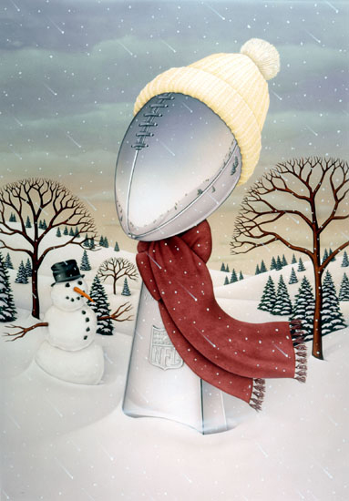 NFL Christmas Card