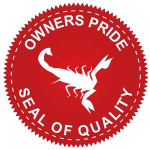 Our Owner's Pride Seal of Quality is our pledge to you: we'll provide your home with the very best service.