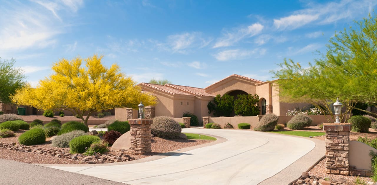 As seen in our work on this home, Crash of Rhinos is one of the best Scottsdale painting contractors.