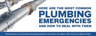 If you run into any of these common plumbing emergencies, call the trusted plumbers here at King!