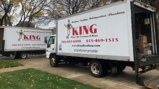 King Heating, Cooling & Plumbing are servicing furnaces in Chicago.