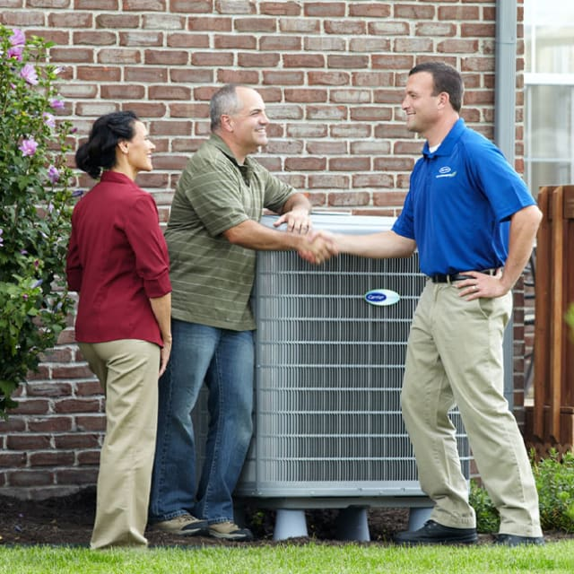 We're your team for new Carrier air conditioner installation here in Chicago and Northwest Indiana.