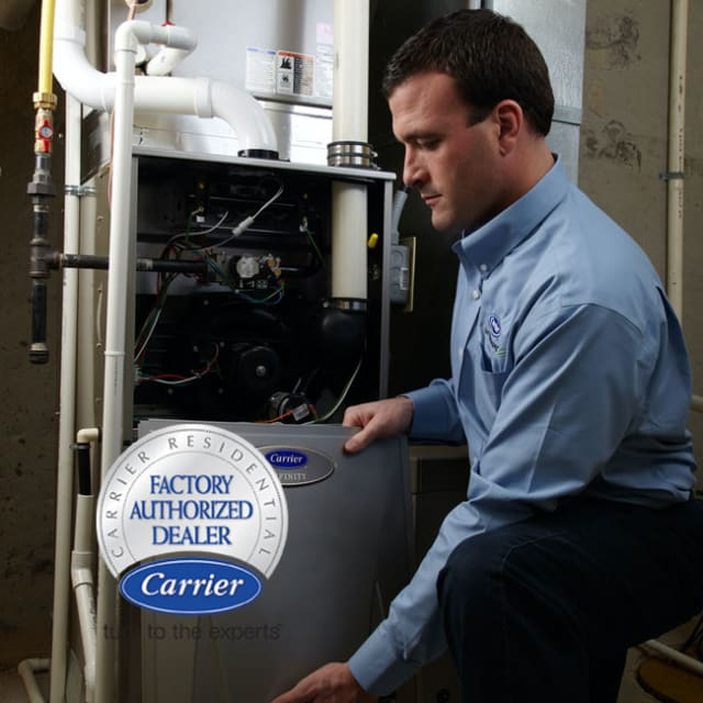 When you need a new heating and cooling system in Chicago, call your Carrier Factory-Authorized Dealer at King.