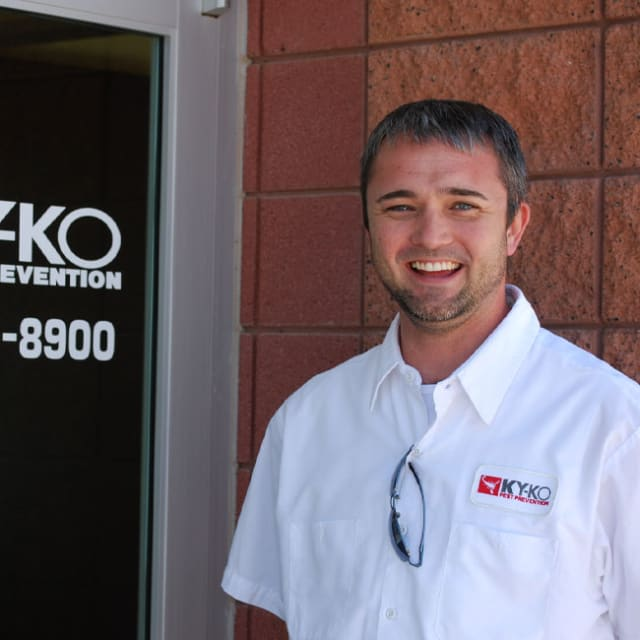 At KY-KO Pest Prevention, we're incredibly proud of our great team of state-certified pest technicians.