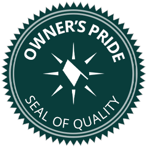 The KY-KO Roofing Owner's Pride seal of quality.