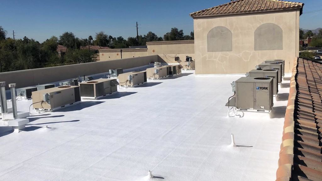 KY-KO handles all retail roofing projects in Phoenix, including foam roofing installation, maintenance, and repairs.