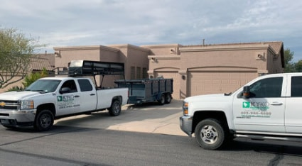 As the top flat roof contractors in Phoenix, KY-KO is proud to help homeowners and businesses with their flat roof needs.
