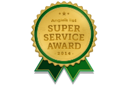 Crash of Rhinos Painting won the 2014 Super Service Award from Angie's List—one of the highest honors in our industry!