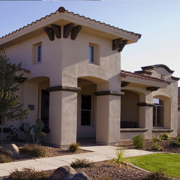 Our team is all about quality and a job well-done, as can be seen on this completed home.