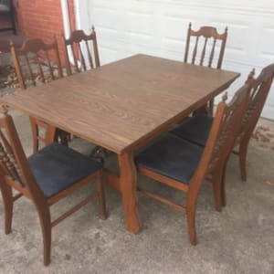 Set of 6 Vintage Bassett dining room chairs for sale in Wylie, TX ...