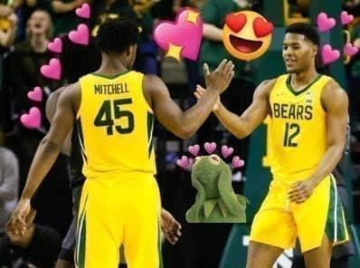 2021 Baylor men's basketball was one of my favorite basketball teams I've ever watched, and it should and will go down as an all-time great team.