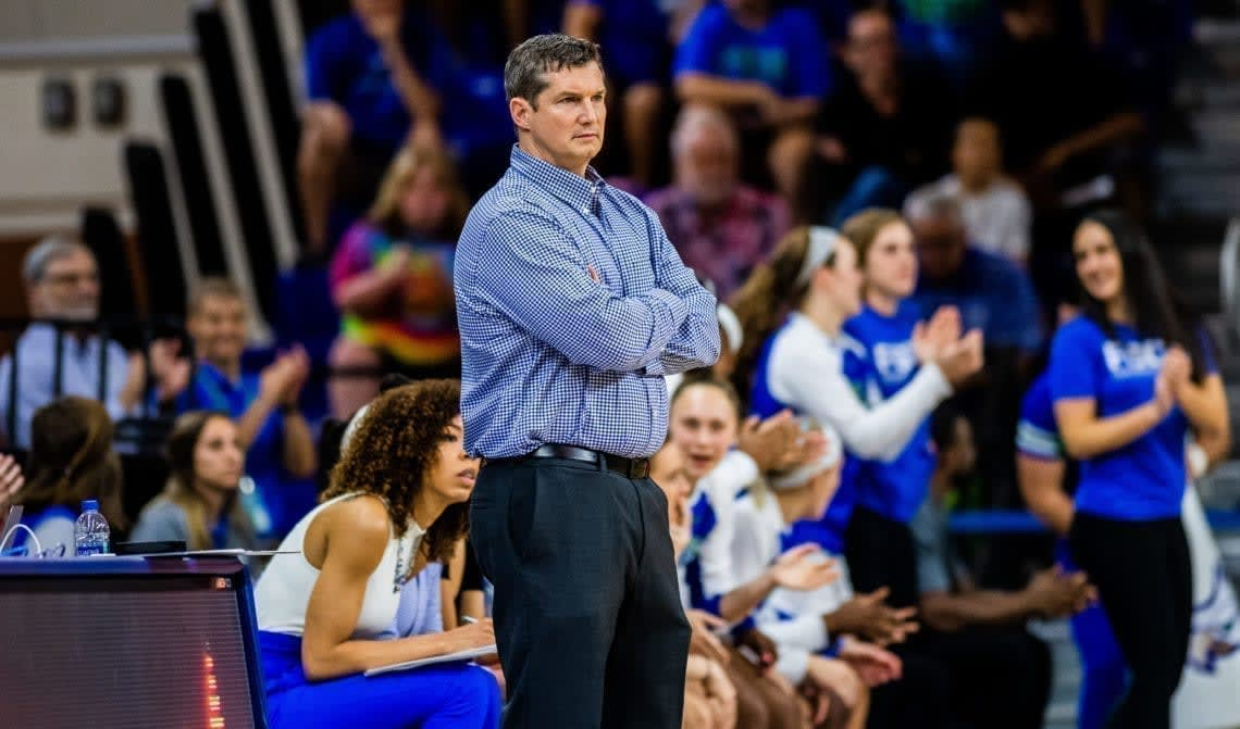 We spoke with FGCU women's basketball head coach Karl Smesko about how he and his program are handling the coronavirus crisis.