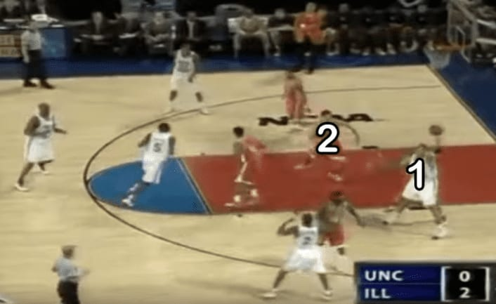 Sean May and North Carolina gave Illinois its second loss of the season in the 2005 national championship. Jordan Sperber explains how.