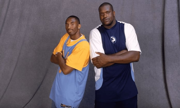 """In 1998, Kobe was featured on the song """"3 Xs Dope"""" on Shaq's album, """"Respect."""" It was the start of his attempted rap career."""