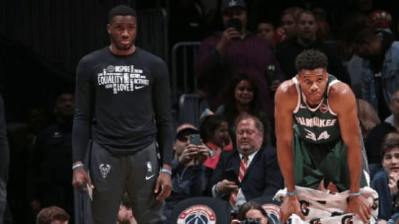 Giannis Antetokounmpo and his brother, Alex, have one goal in their minds: to carry on the legacy of their late father, Charles.
