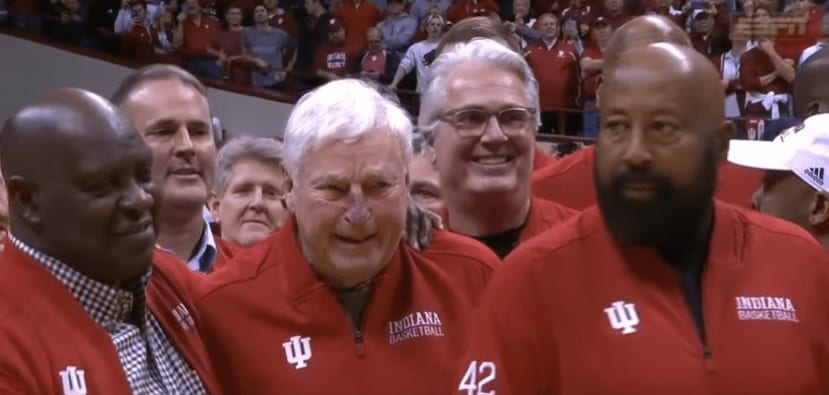 Bob Knight made his return to Indiana for the first time in 20 years, and it reminded all of us that time really does heal all wounds.