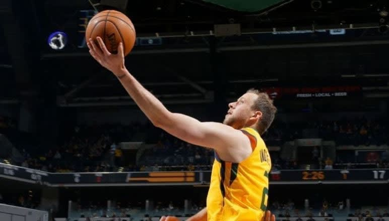 The waiver wire is the key to winning in fantasy sports, and hoops is no exception. Joe Ingles is available in many leagues and will make your team better.