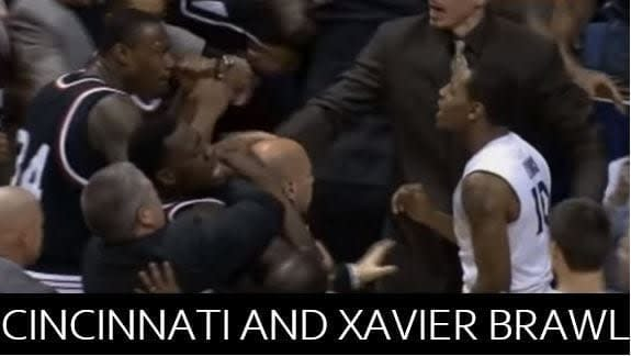 On this day eight years ago, Cincinnati and Xavier had a bench-clearing brawl that bloodied the already-heated Crosstown Shootout.