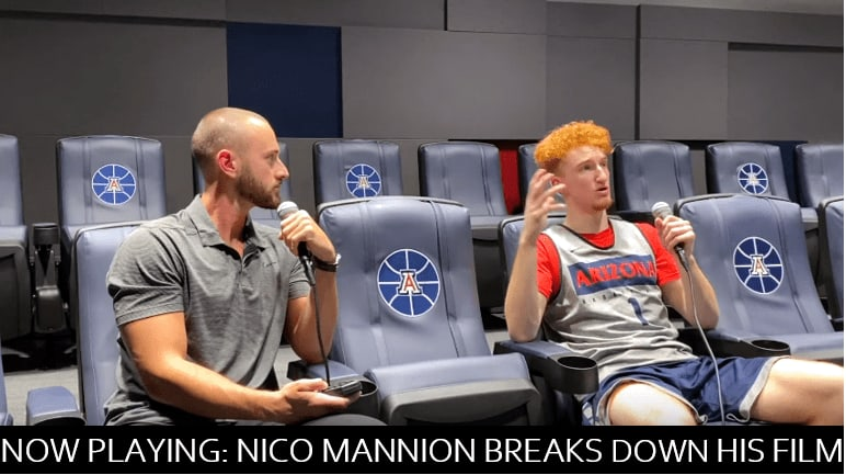 Nico Mannion sat down with ESPN's Mike Schmitz to break down his own film in an informative 25-minute video that features plenty of praise and critiques.