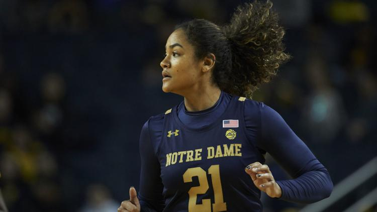Notre Dame turned the ball over 25 times in its 69-60 defeat at the hands of Florida Gulf Coast on Thursday at the Hard Rock Hotel in Cancun, Mexico.