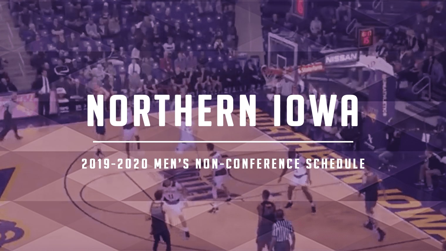 Northern Iowa has a few matchups against serious competition in its non-conference schedule, including Colorado and two games in the Cancun Challenge.