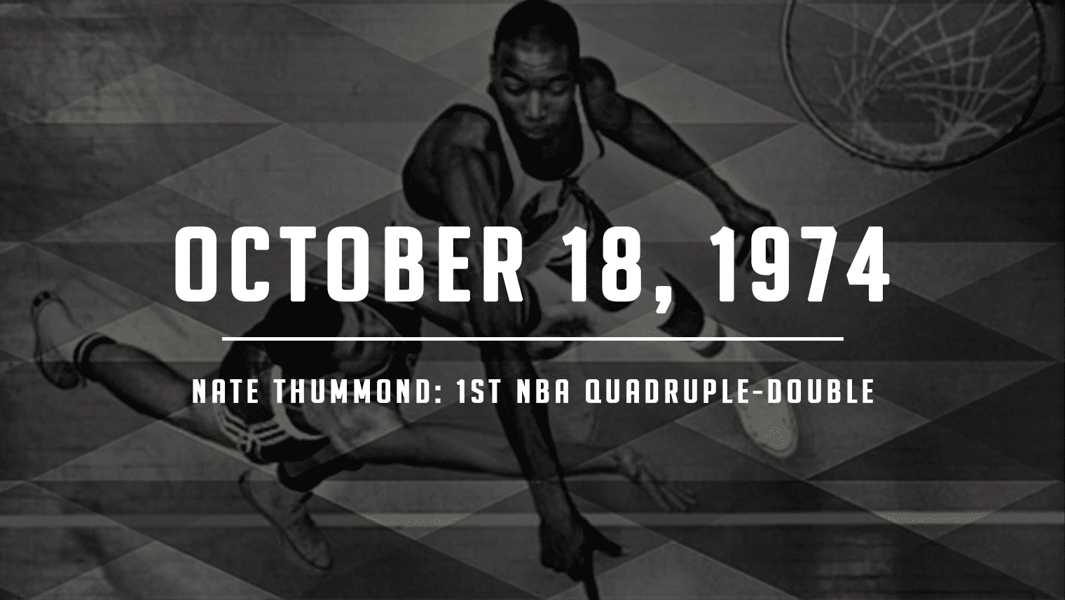 On this day 45 years ago, Nate Thurmond recorded the first-ever quadruple-double in NBA history and remains one of four players to ever do it.