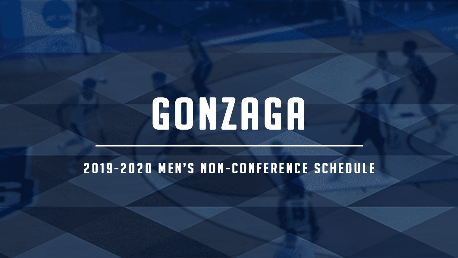 Gonzaga yet again has a very difficult non-conference schedule to look forward to, including dates with North Carolina, Arizona, Washington and more.