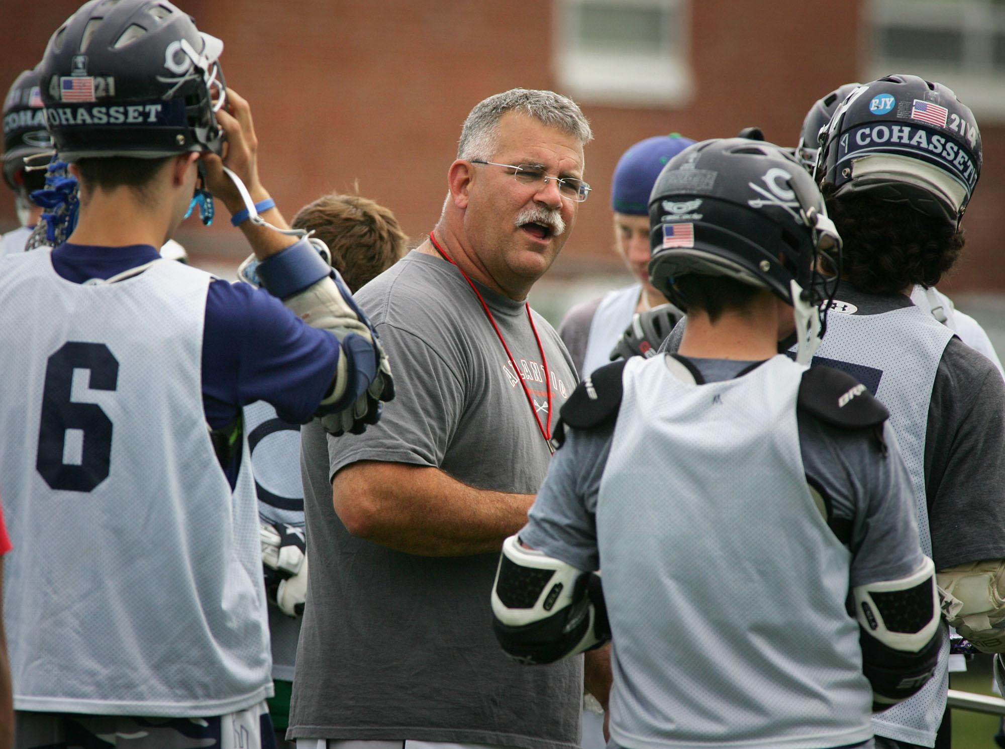 After Massachusetts lacrosse legend Stew Curran was diagnosed with brain cancer, PrimeTime Lacrosse launched the #Shots4Stew campaign.