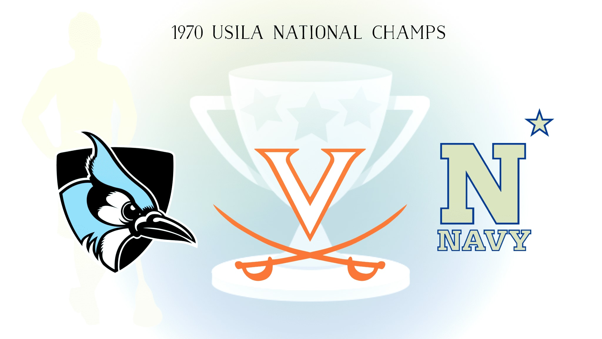 The 1970 lacrosse national champions were the last to split a major college lacrosse crown before the NCAA began sponsoring the sport.