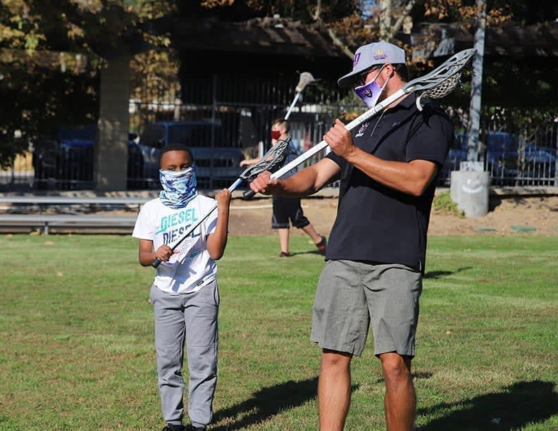 Wes Berg has spent a lot of time and energy spreading lacrosse and giving back to the San Diego community since he was traded to the Seals.