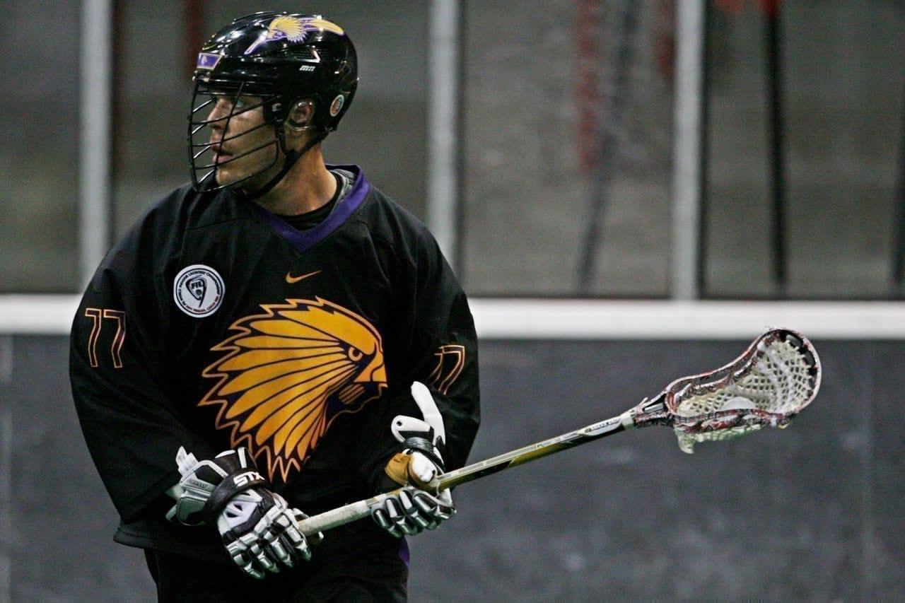 Objibwe-Inuit Jeff Shattler Has Great Pride Wearing Iroquois Nationals Jersey