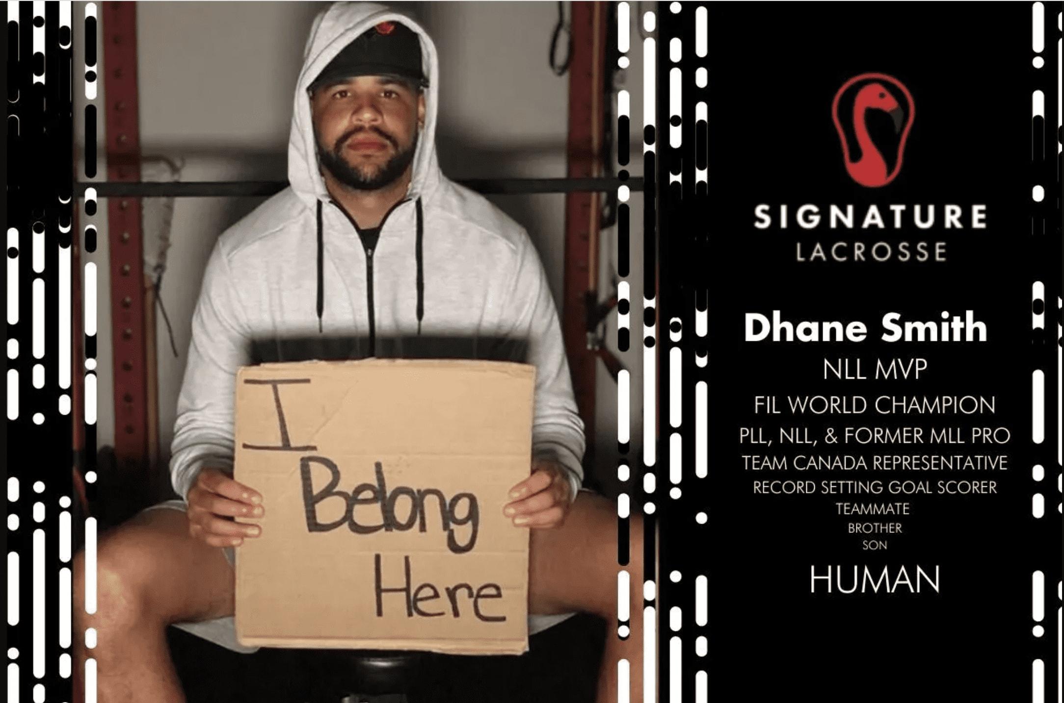 'I Belong Here' Says Dhane Smith, First Black NLL MVP