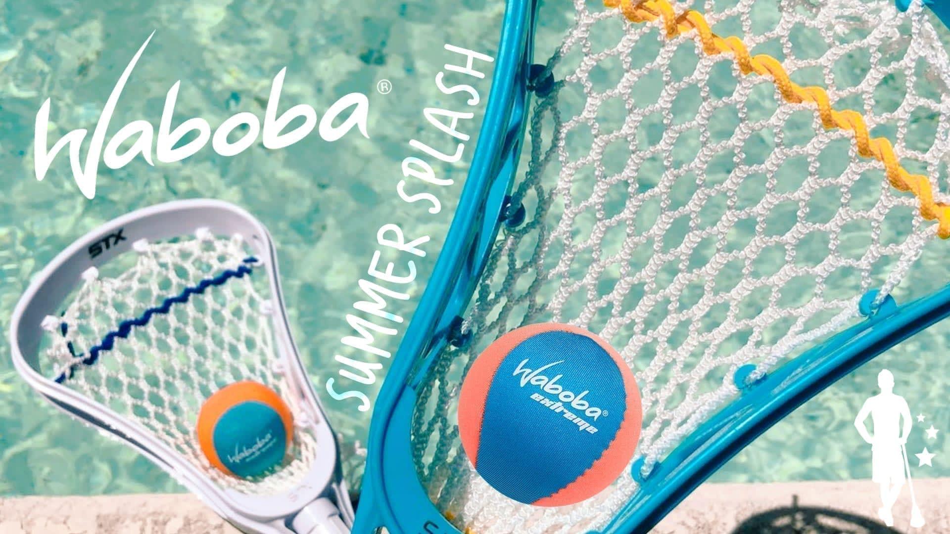 waboba summer splash challenge contest free waboba laxallstars lacrosse
