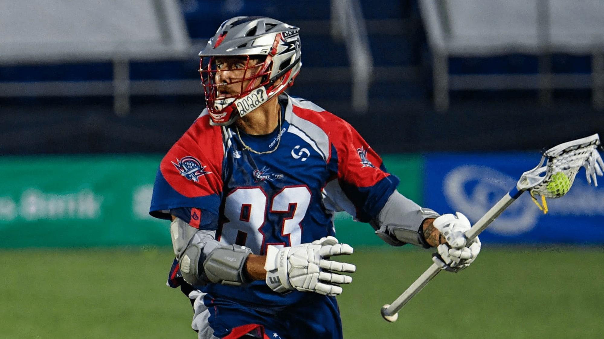 Don't Take Lacrosse Away From Us, the Haudenosaunee Randy Staats Boston Cannons MLL Major League Lacrosse