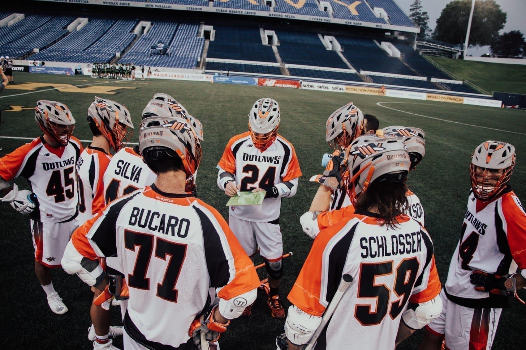 Denver Outlaws New York Lizards MLL Major League Lacrosse 2020 Pretty Instant-98