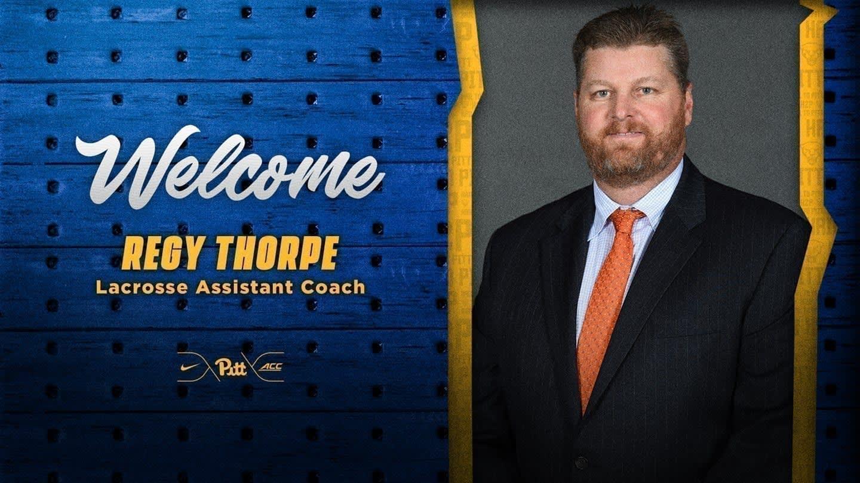 Regy Thorpe Lands Assistant Role to Establish Pitt Lacrosse