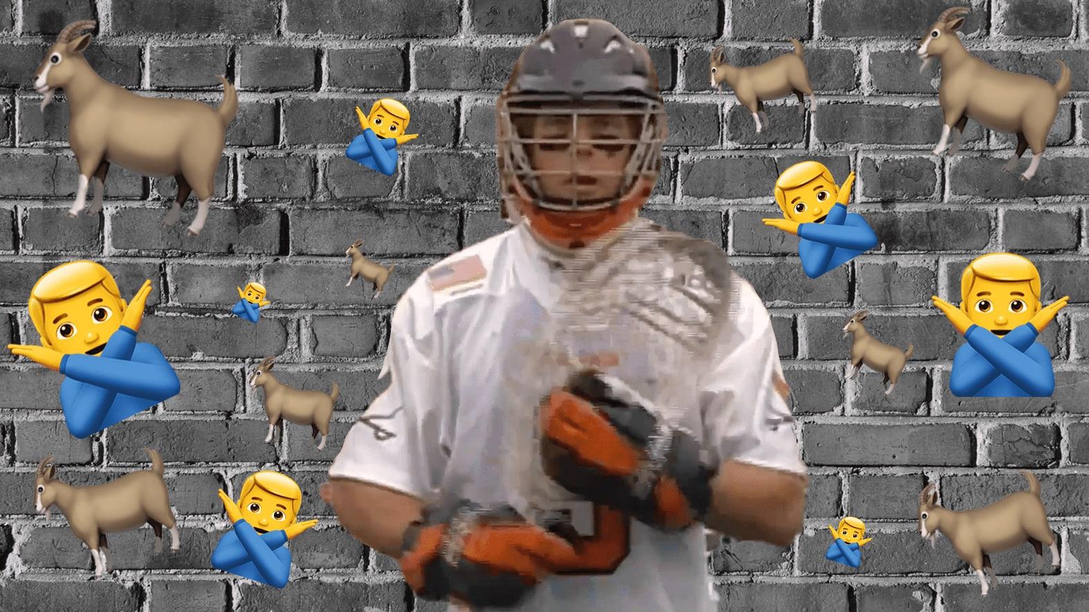 Tillman Johnson is the Goalie GOAT at UVA